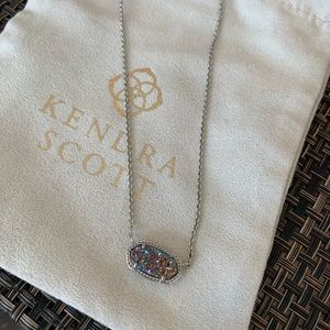 Kendra Scott multi-color drusy necklace